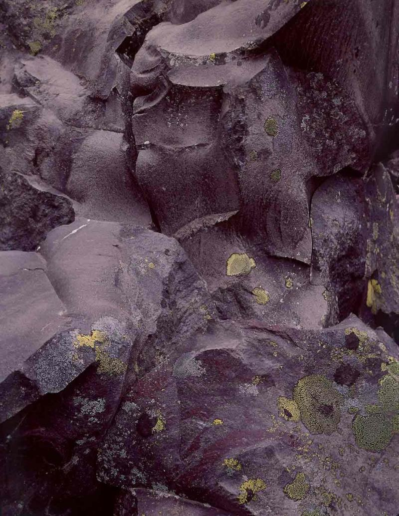 lava, McKenzie Pass, Oregon, 1967